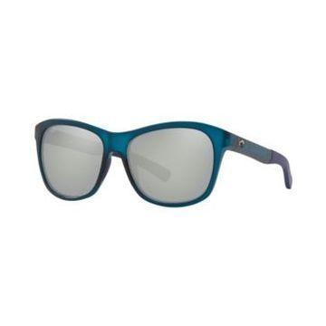 Costa Del Mar Polarized Sunglasses, Vela 56