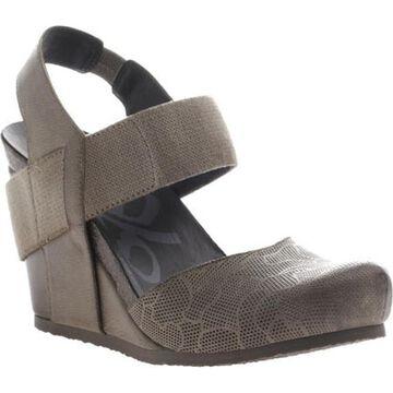 OTBT Women's Rexburg Wedge Dust Grey Leather