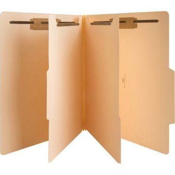 Sparco, SPR95007, 6-part Manila Classification Folders, Manila
