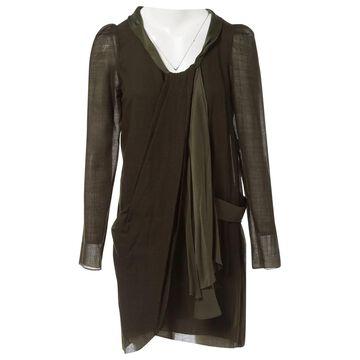 Vanessa Bruno \N Green Wool Dresses