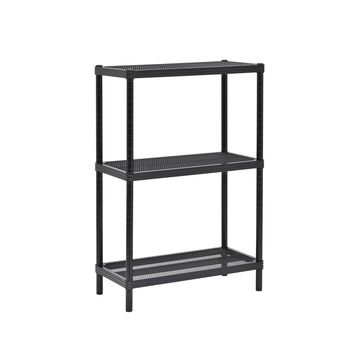 3-Tier Mesh Shelving Unit