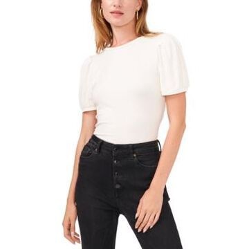 1.state Puff-Sleeve Top