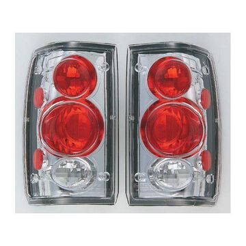 IPCW 86-93 Mazda Mazda PU Tail Lamps Crystal Clear CWT-CE804C Pair