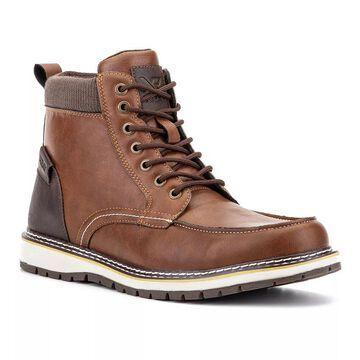 Xray Nolan Men's Ankle Boots, Size: 7.5, Beig/Green