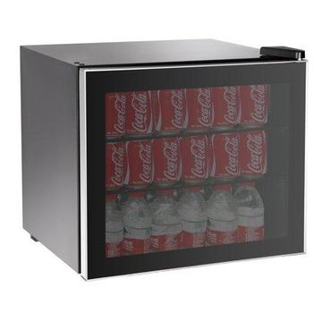 RCA, 70-Can or 17-Bottle Adjustable Beverage Center with Silver Trim, RMIS104