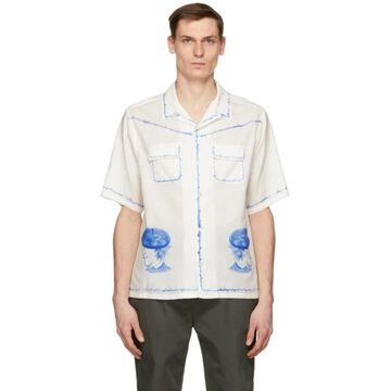 Undercover Off-White Beret Print Shirt