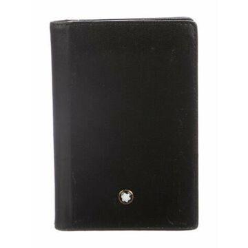 Leather Bifold Wallet Black