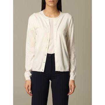 Cruciani Long-sleeved Cotton Cardigan
