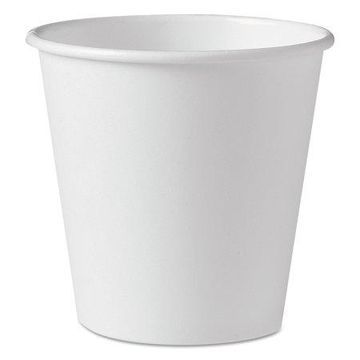 Dart Polycoated Hot Paper Cups, 10 oz, White, 1000/Carton
