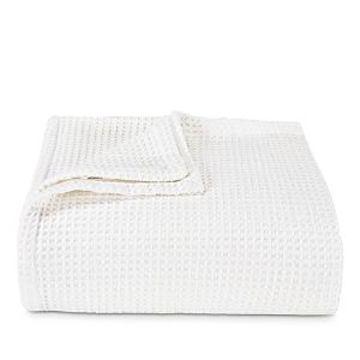 Vera Wang Waffleweave Blanket, Twin