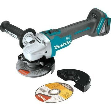 ''Makita XAG03Z 18V LXT Lithium-Ion Brushless Cordless Cut-Off/Angle Grinder, 4-1/''