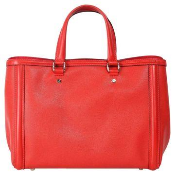 Carolina Herrera Red Fur Handbags