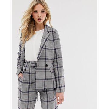Y.A.S check blazer-Multi