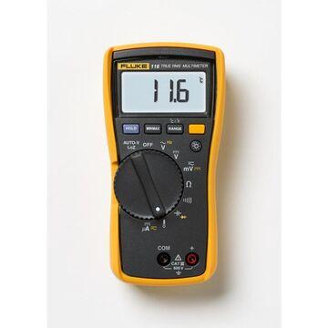 Fluke Digital 600-Volt Multimeter in Yellow