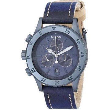 Nixon Women's Chronograph Leather Watch A5041930