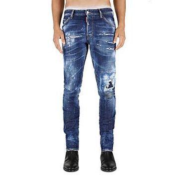 DSQUARED2 Skater Slim Fit Jeans in Blue
