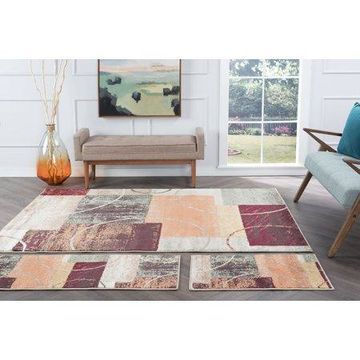 Bliss Rugs Corey Contemporary Set Rug