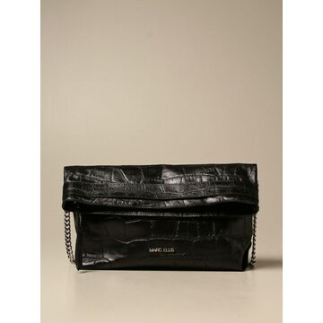 Marc Ellis Crossbody Bags Dalila L Marc Ellis Bag In Laminated Crocodile Print Leather