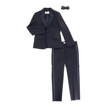 Il Gufo Smoking Suit With Bow Tie