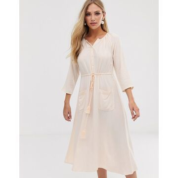 Y.A.S button through midi dress