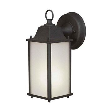 Forte Lighting 17003-01 1 Light Outdoor Wall Sconce