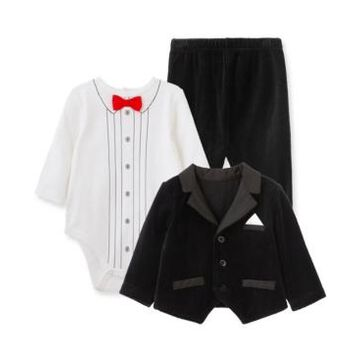Little Me Baby Boy Tuxedo 3pc Jacket Set