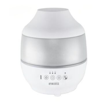 HoMedics TotalComfortCool Mist Ultrasonic Humidifier - 360 Mist Nozzle and Essential Oil Tray