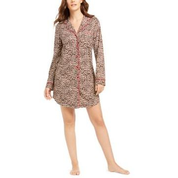 Charter Club Sueded Super Soft Knit Sleepshirt Nightgown, Created for Macy's