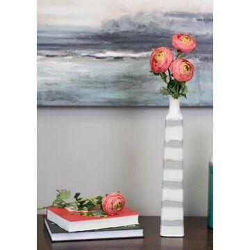 Vickerman Pink Ranunculus Stem - Set Of 4 -