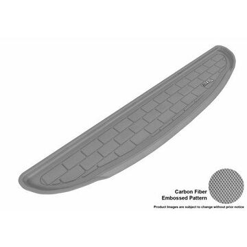 3D MAXpider 2011-2012 Kia Sorento All Weather Cargo Liner in Gray with Carbon Fiber Look