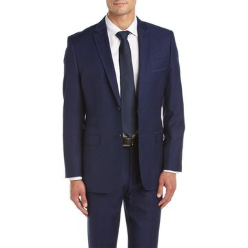 English Laundry Mens Suit With Flat Front Pant