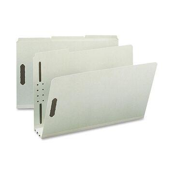 Nature Saver Pressboard Fastener Folder 3 Exp 1/3 Tab Legal 25/BX GYGN SP17236