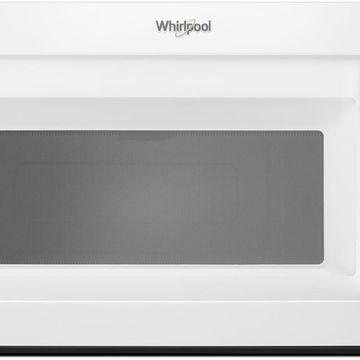 Whirlpool White Over-The-Range Microwave Hood Combination
