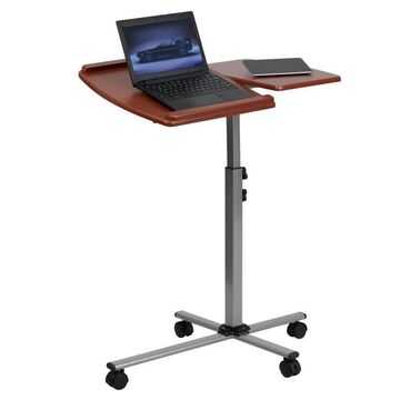 Flash Furniture 29.25-in Red Modern/Contemporary Standing Desk