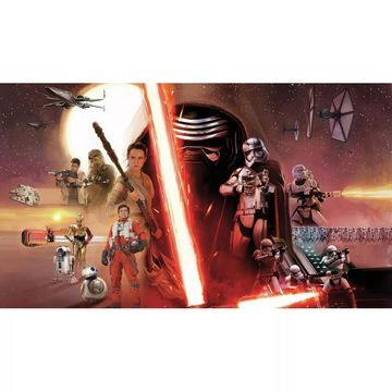 &Star Wars™ Episode VII: The Force Awakens& Prepasted SureStrip™ Mural