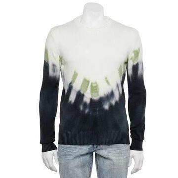 Men's Xray Regular-Fit Arrow Tie-Dye Crewneck Sweater, Size: XL, Oxford