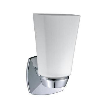 Gatco Jewel 4.5-in W 1-Light Chrome Transitional Wall Sconce