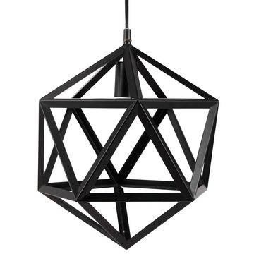 Furniture of America Obsidia Contemporary Metal Chandelier