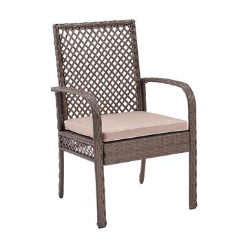 Crosley Furniture Tribeca Wicker Dining Chairs (Set of 4)