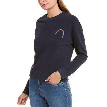 Monrow Womens Slouchy Sweatshirt
