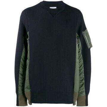 Sacai Sweaters Blue