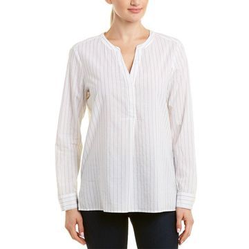 Nydj Womens Henley Shirt