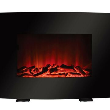 Fireplace Heater Freestanding or Wall Mounted LED Flame Adjustable with REMOTE