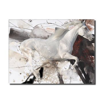 Ready2HangArt 'Equestrian Saddle Ink PSIII' Canvas Wall Art