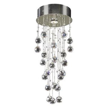 PLC Lighting 81720PC 1-Light Ceiling Light Beverly Collection