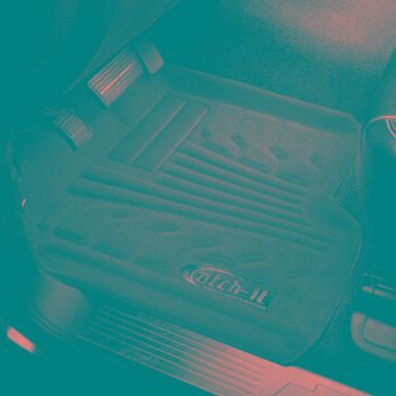 2015 Toyota Tundra Lund Catch-It Carpet Floor Mats in Black, Floor Mat Set - Catch-It Carpet Floor Mat - Rear - PN 783221-B