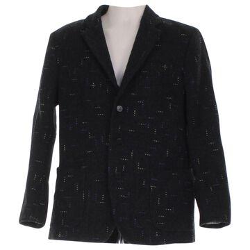 Issey Miyake Black Wool Jackets