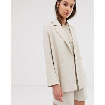 Weekday blazer in light beige