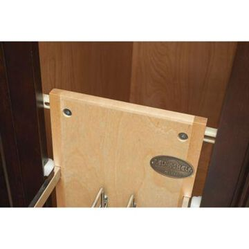 Rev-A-Shelf 447-BCBBSC-5C 5.25 in. Pull-Out Wood Foil Wrap/Tray Divider w/Ball-Bearing Slides
