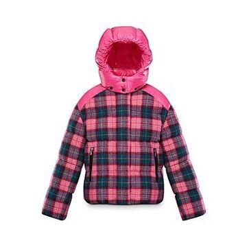 Moncler Girls' Plaid Chouette Jacket - Little Kid